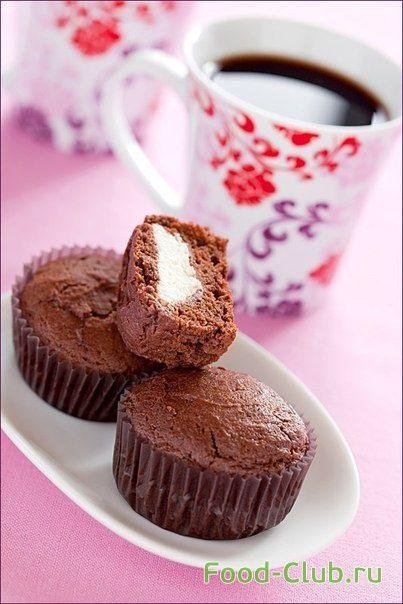 Шоколадно-творожные кексы / Сладкие кексы, булочки и пирожки / Кулинарные рецепты - Фуд-клаб.ру