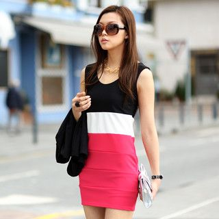 Buy 'SO Central – Color-Block Tank Dress' at YesStyle.com plus more Hong Kong items and get Free International Shipping on qualifying orders.