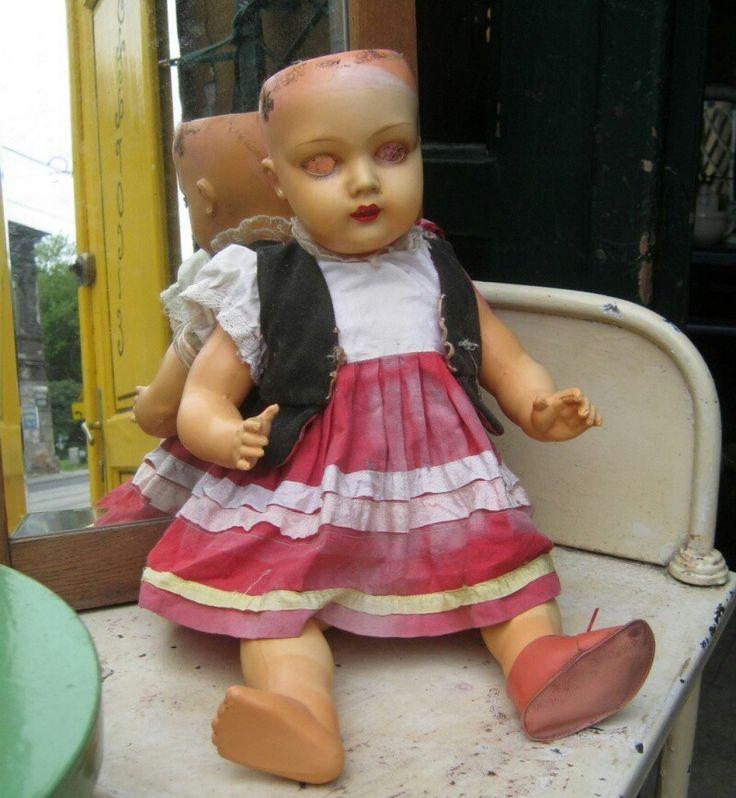 Adam Szrajer A.S.K. Poland- celluloid doll
