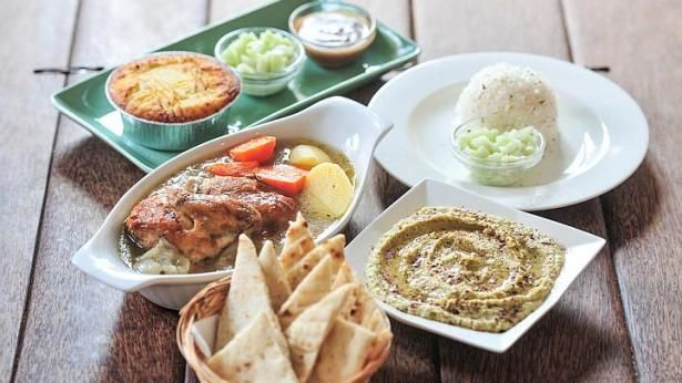 A sample of the Ramadan special menu at Bluespoon restaurant in Singapore. http://www.straitstimes.com/lifestyle/food-wine/story/new-options-breaking-fast-20140628 Photo: Steffi Koh/The Straits Times