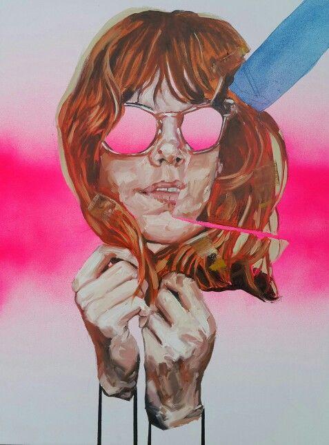 Untitled,  oil on canvas 2015. Nathan Vuuren.