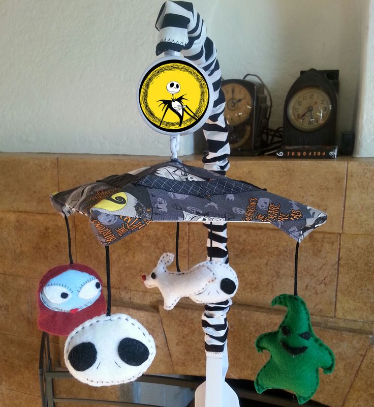 Nightmare Before Christmas mobile. This is a YES for Baby Bezgela regardless of gender!