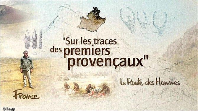 """Extrait du documentaire """"Sur les traces des premiers provençaux"""". #archeologie #prehistoire"""