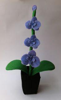 Coisinhas da Flafy: Orquídea 5