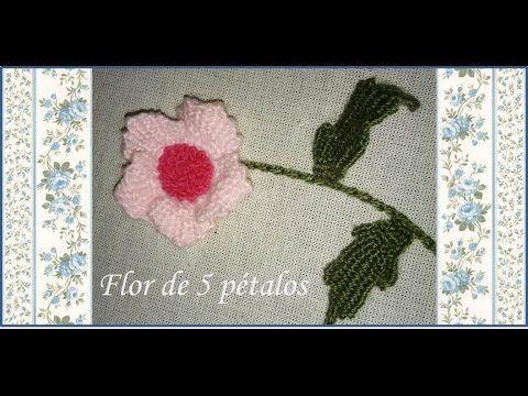 ♥ Flor de 5 pétalos ♥
