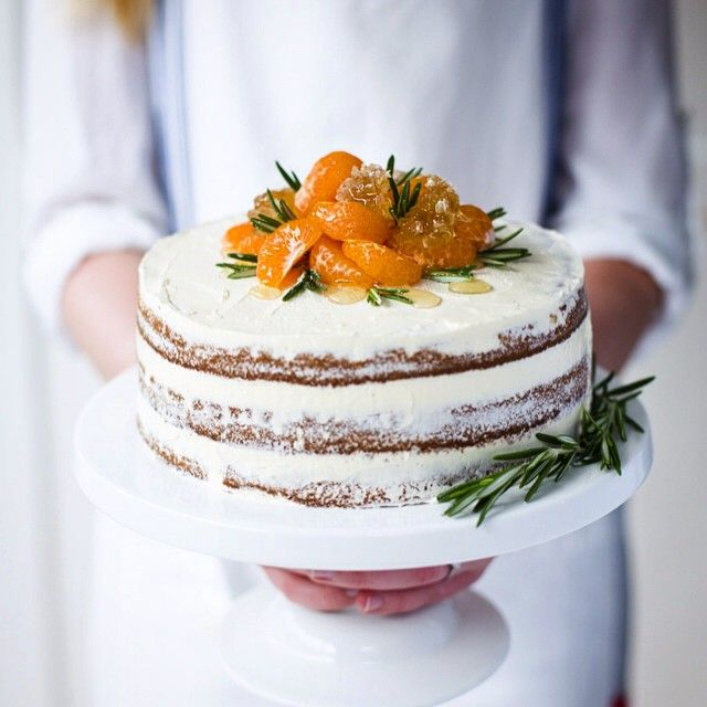 Spiced clementine and ricotta cake...yum!!!