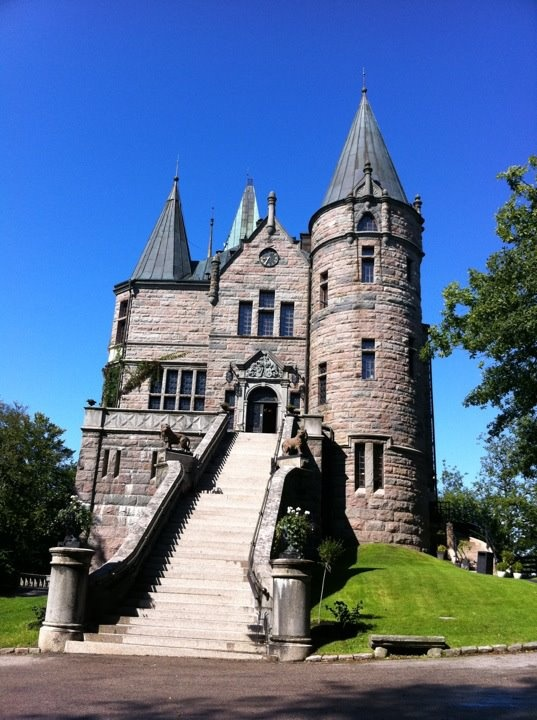 castle in Vaxjo, Sweden says AzraD89