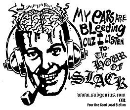 """HOUR OF SLACK RADIO PODCAST #1351 - Early Mourning Memorial Party for the Late Saint PETER BERGMAN of FIRESIGN THEATRE....    One of our heroes died: SAINT PETER BERGMAN of FIRESIGN THEATRE...., inspirators for all """"old-school"""" SubGenius radio and a goodly portion of SubGeniusness in general. He pre-boarded the Saucers on March 8, 2012; this show was assembled on March 10 & 11. LISTEN/DOWNLOAD via http://hourofslack.libsyn.com & more SLACK at: http://subgenius.com…"""
