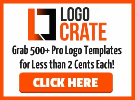 Logo Crate 2.0 – what is it? If you have ever outsourced getting a Logo created you will know how expensive it is, especially if you need to go back and make changes. With that in mind I'm excited to share this treasure chest of 550 professionally designed logos with you!