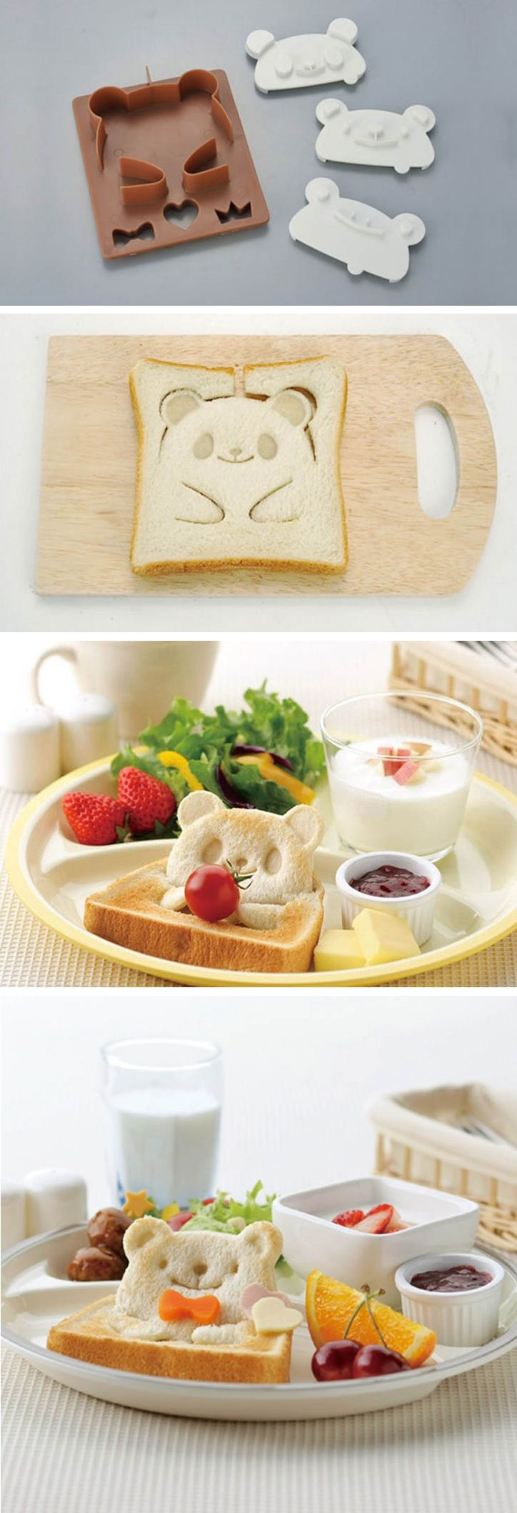 Have you ever looked down at your breakfast and thought to yourself: 'ah man, I can't bring myself to eat this, it's just not adorable enough!' Well, the answer to all your troubles is here. From the far east we've had such cute foods as baby-shaped pears andhugging-bear cookies, but now we are pleased to bring you… teddy-bear toast!
