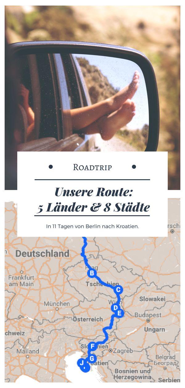 Europe Roadtrip: 5 countries, 8 cities – By car to Croatia