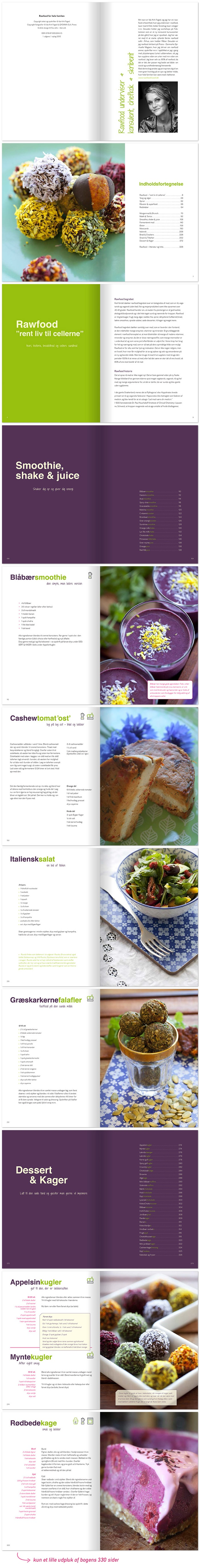 Rawfood recipes (Danish) | Idero