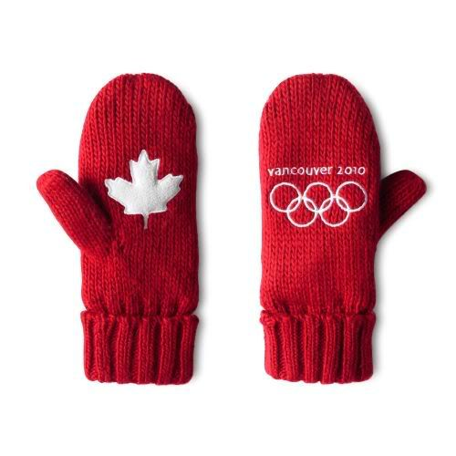 Vancouver 2010 Olympics mittens