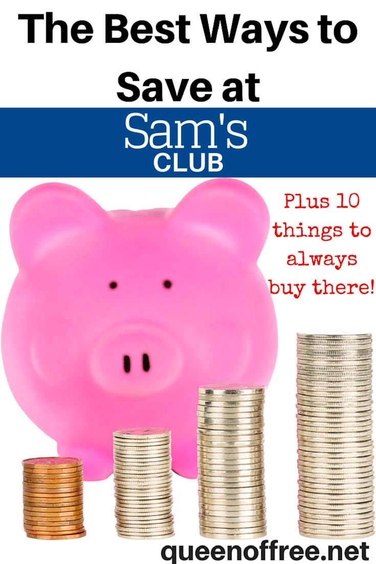 Sam s club credit card payment - Is A Sam S Club Membership Worth It Check Out The Best Ways To Save Money