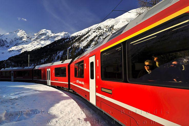 110019  Rhätische Bahn, Bernina