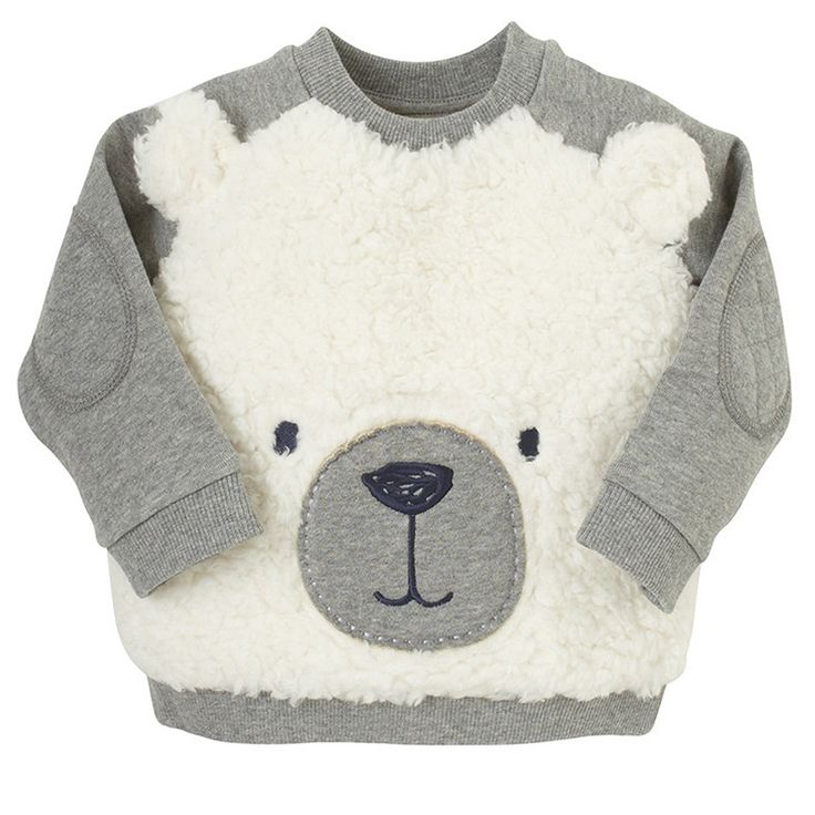 2017 New Autumn Spring Boys Girls Sweatshirts Babies Bear Clothing Pullover Cartoon Children's Patchwork Cute Kids Sweatshirt //Price: $19.08 //     ##babyfashion