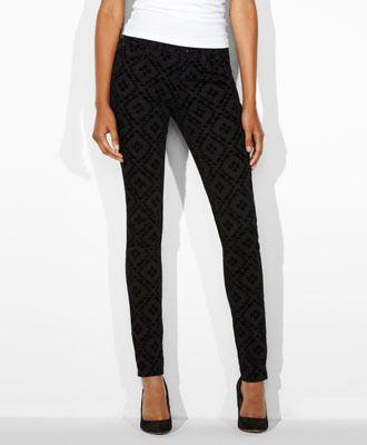 Modern Rise Demi Curve Skinny Jeans - Textured Diamond - Levi's - levi.com #Levis