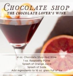 Chocolate Shop Wine - Home