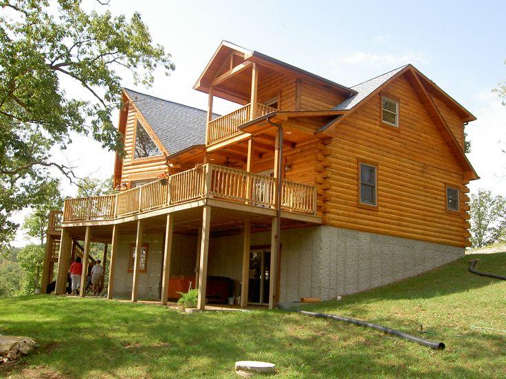 log home roof design