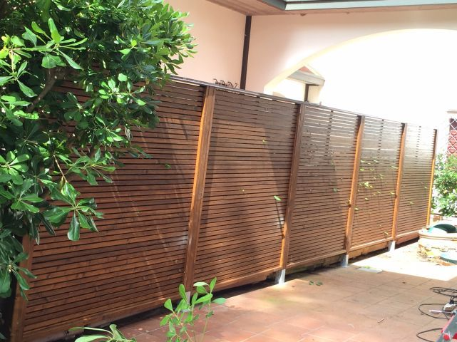 Oltre 25 fantastiche idee su recinzioni in legno su - Arredo giardino bologna ...