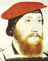 "Thomas Boleyn--Anne's father. Even after Henry killed two of his children he remained at court, albeit in a much reduced role. In the series ""The Tudors,"" he is depicted as quite a cold man, literally turning his back on his children as they awaited execution having ruthlessly used them to further his own ambitions. Today March 12th is the 473rd anniversary of his death."