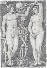 Hans Sebald Beham - Adam and Eve | Brentano's, Inc.