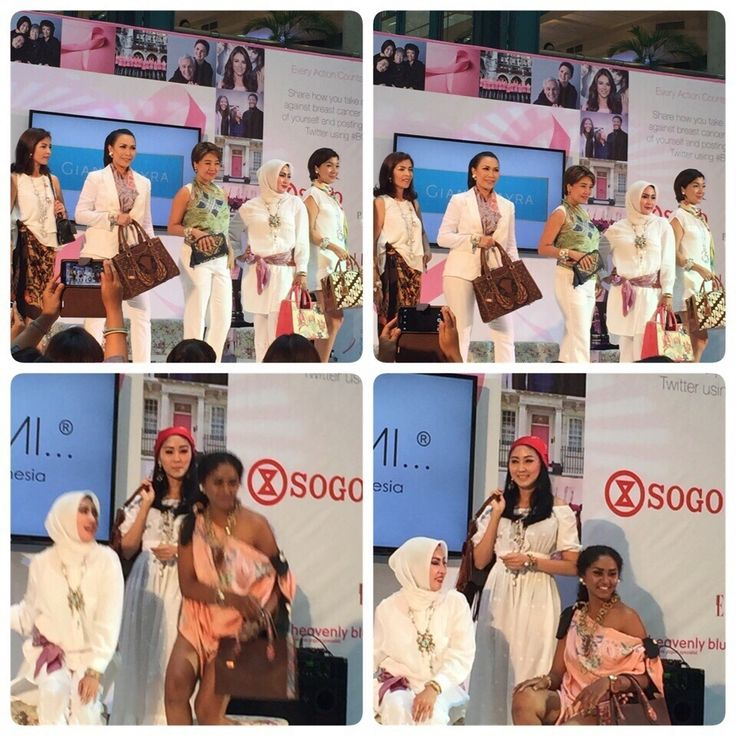 PRibuMI...® Trunk Show supported 2015 Breast Cancer Awareness Campaign, 25 October 2015