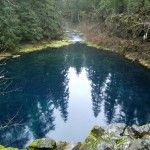 Tamolitch pool (blue pool) swimming hole. Blue River, Or. Hwy 26.  4 mi loop trail off 26 miles McKenzie trail