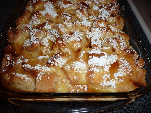 Cream cheese French toast casserole - may be a major competitor for the eggnog French toast casserole!