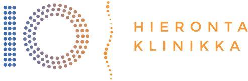 Hieronta IO-Klinikka logo. Ajanvaraus osoitteesta aikahierontaan.fi. Tervetuloa!