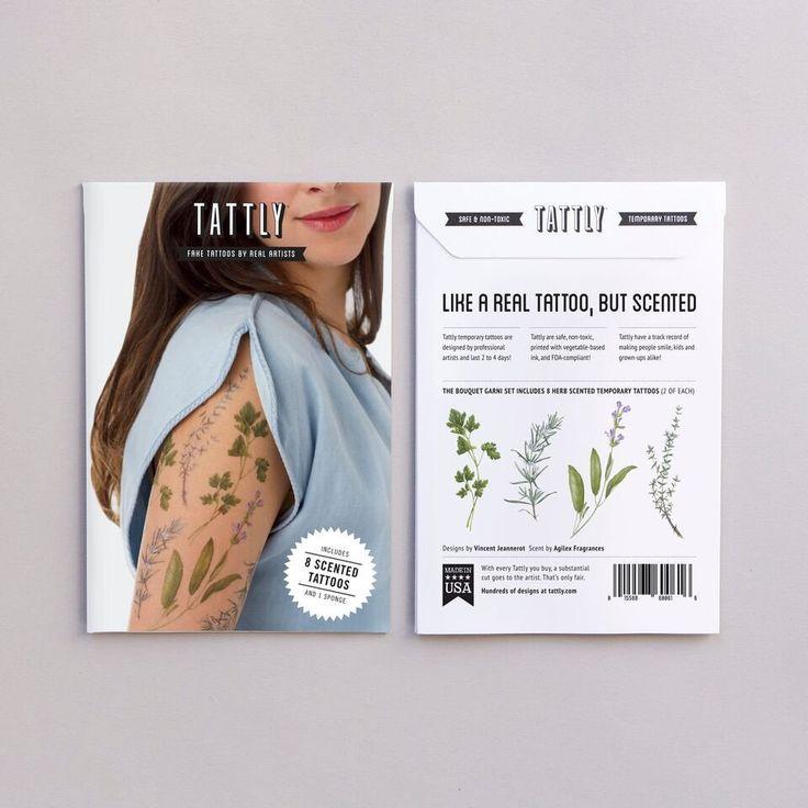 Кулинарные травы ароматической Набор татуировки - Колоссальный магазин