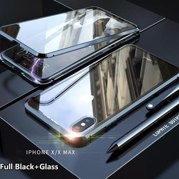 Iphone Double-sided Glass Magnetic King Mobile Phone Cases(BUY 1 GET 2ND 10% OFF)