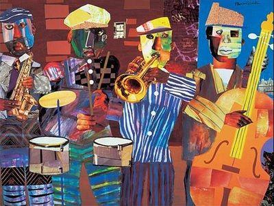 Romare Bearden - Harlem-Renaissance