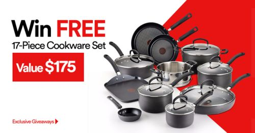 Win FREE 17-Piece Cookware Set! $175 Value! Ends 7/30 {US} via... IFTTT reddit giveaways freebies contests