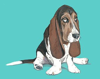 Custom Portrait painting using gouache on card stock. Gouache is an opaque water based paint in the same family as watercolor.  Each portrait is carefully and lovingly hand painted using your photographs as a reference. I take great care to include as much detail as possible, capturing all the little nuances that make your pet uniquely them. Each piece is then finished with a bright and colorful background, creating a work of art that appeals to people of all ages and walks of life.  To…