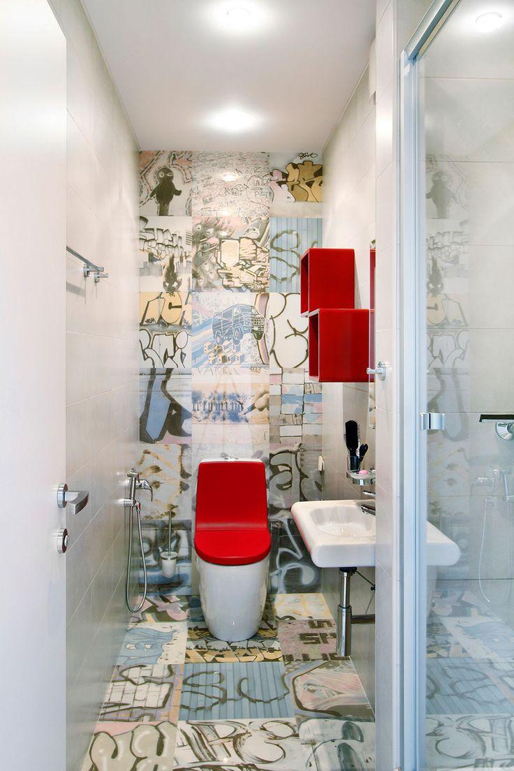 Модный дизайн московской квартиры-студии в минималистском стиле