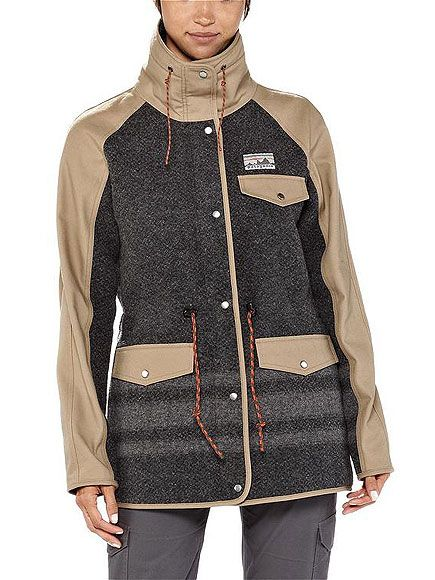 I'm a Connecticut girl, so Patagonia will always be close to my heart.  Their new reclaimed wool parka has a slightly more sleek and urban silhouette, and the rugged wool comes from recycled discarded sweaters that might've otherwise ended up in a landfill. I am getting this jacket.. Today! ...