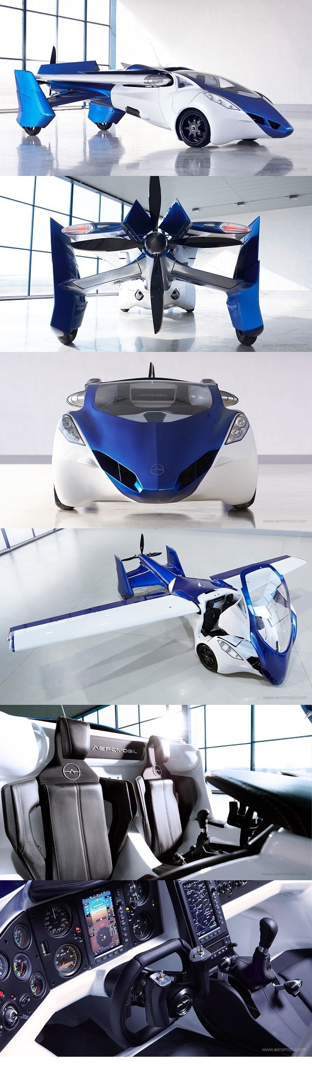 The current flying car prototype AeroMobil 3.0 incorporates significant improvements and upgrades. It is now being tested in real flight conditions since October 2014. Initially certified by the Slovak Federation of Ultra-Light Flying, it now entered a regular flight-testing program.