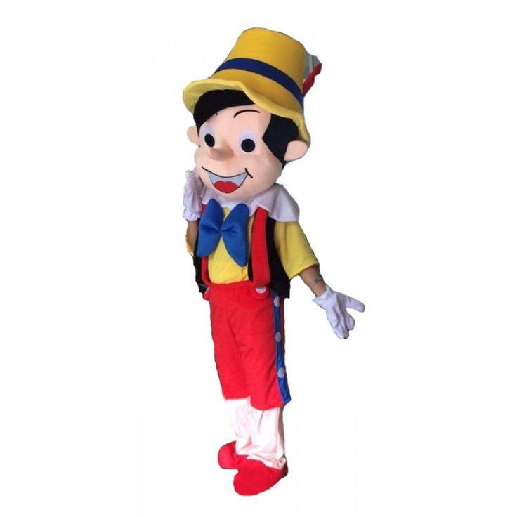 Cartoon pinocchio mascot costume cartoon mascot costumes