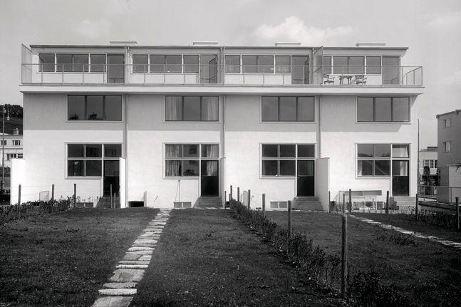 House 53-56 Werkbundsiedlung Wien Gerrit Rietveld, 1932 source: Werkbundsiedlung Wien