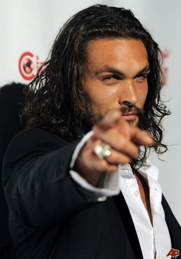 Jason Momoa not as Khal Drogo. Game of Thrones Characters When Not in the Game photo / @junkfoodjourney