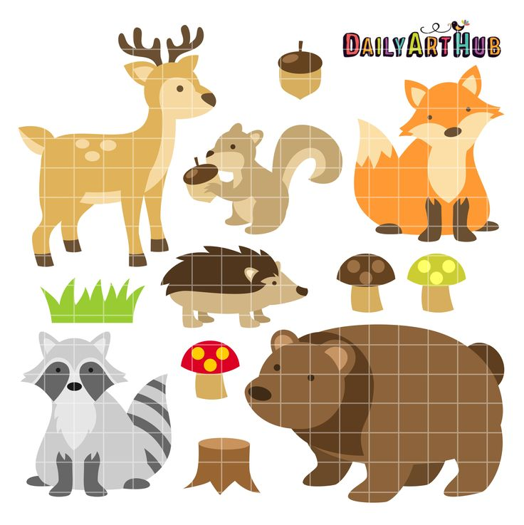 pinterest clipart animals - photo #15