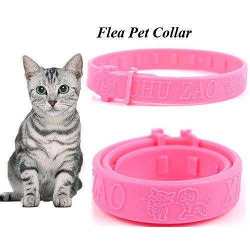 Soft Silicon Fashion Cat Flea Collar