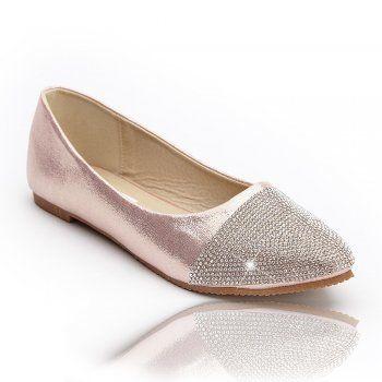 Lemonade Crystal Ice Toe Dolly Shoes LIMITED EDITION Rose Gold - from Lemonade UK
