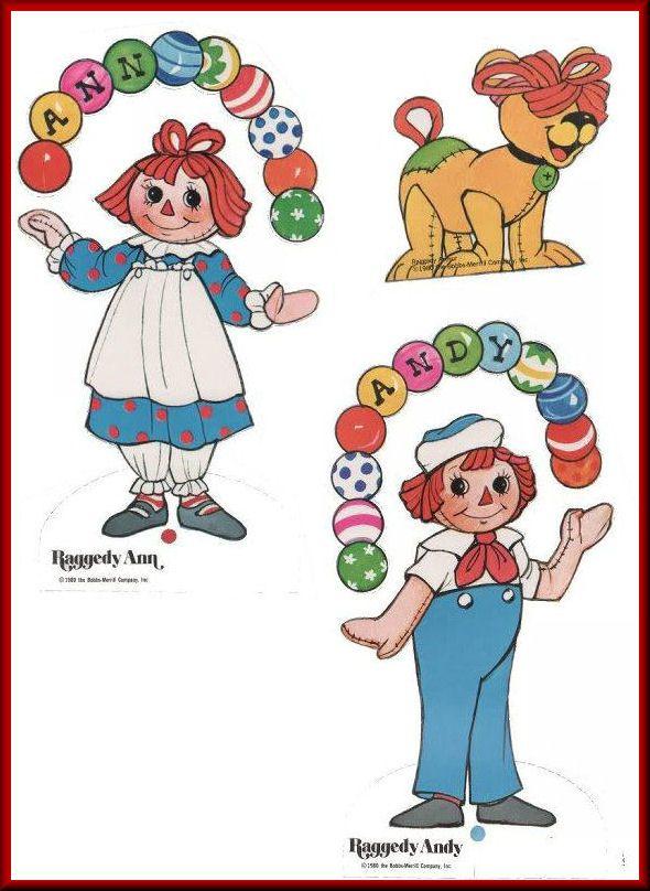 Raggedy Ann & Andy Circus Play Day