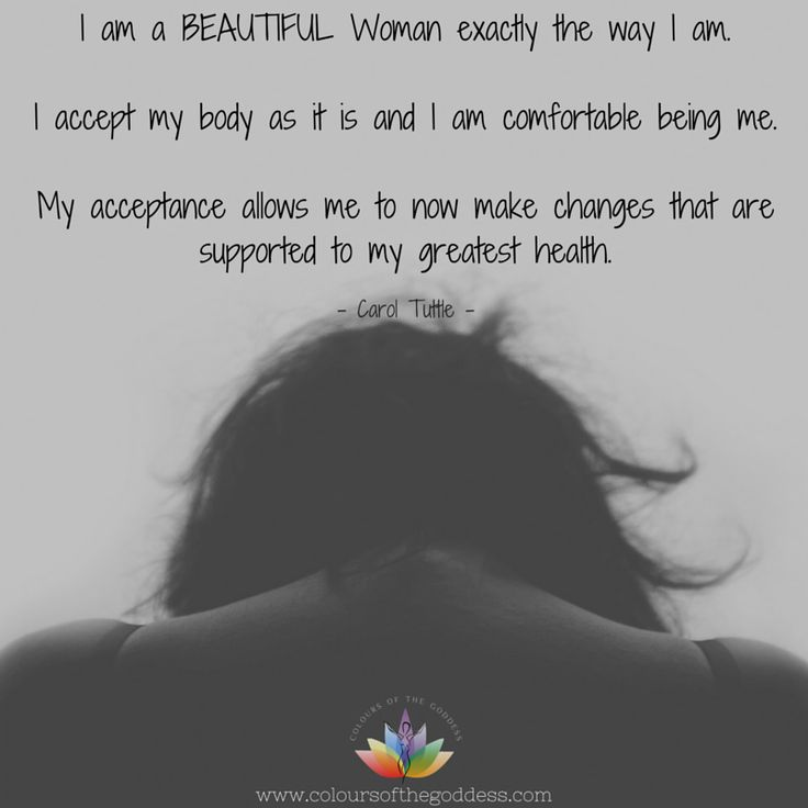 I am a BEAUTIFUL Woman exactly the way I am. #selflove #affirmations #heartchakra #womensempowerment #healing