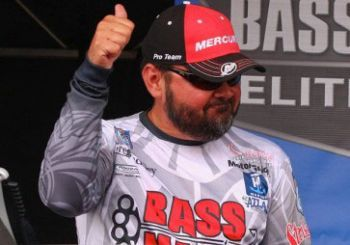 Greg Hackney is in the lead after Day 3 of the Bassmaster Elite at Lake Dardanelle in Russellville, Ark. He leads Rick Clunn by 13 ounces.