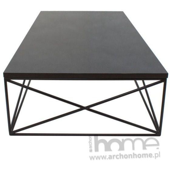 Stolik Midnight czarny, archonhome.pl