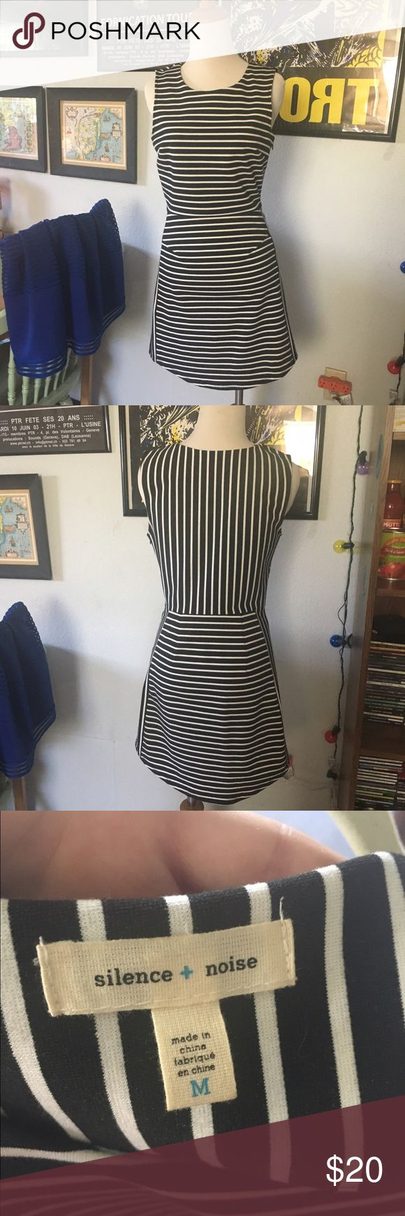 Striped bodycon dress Urban Outfitters striped body con dress size Medium. Please let me know if you have any questions. Thanks! silence + noise Dresses Midi