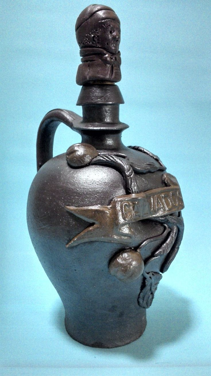 calvados alcool | Cruche A Calvados Ancienne En Gres+Bouchon Bouteille Alcool Pot ...